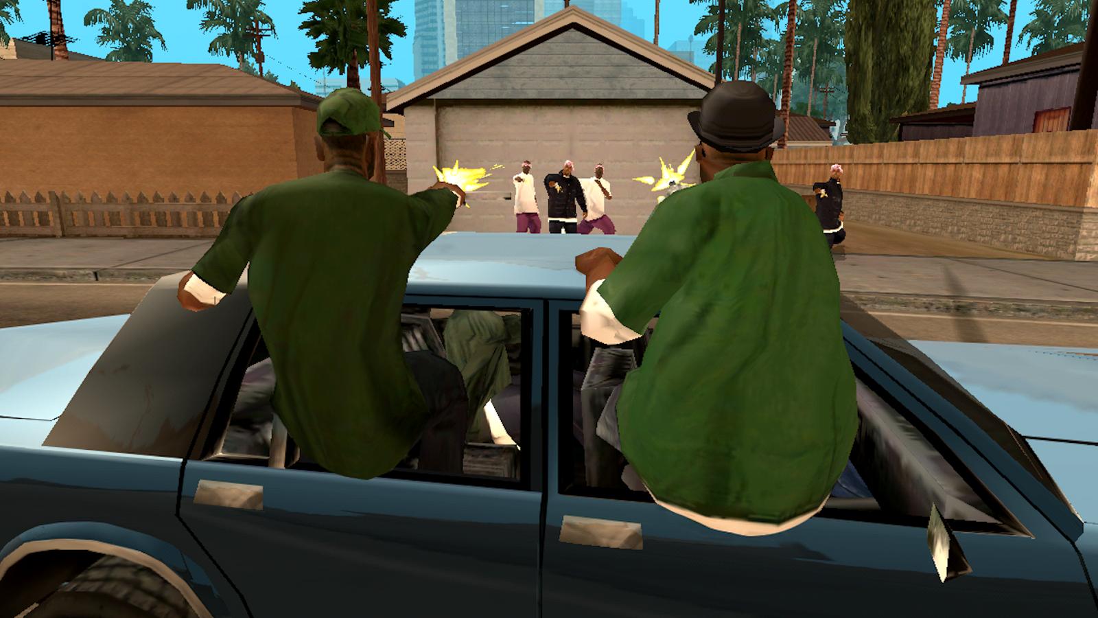 Mods de Grand Theft Auto: San Andreas - Grand Theft