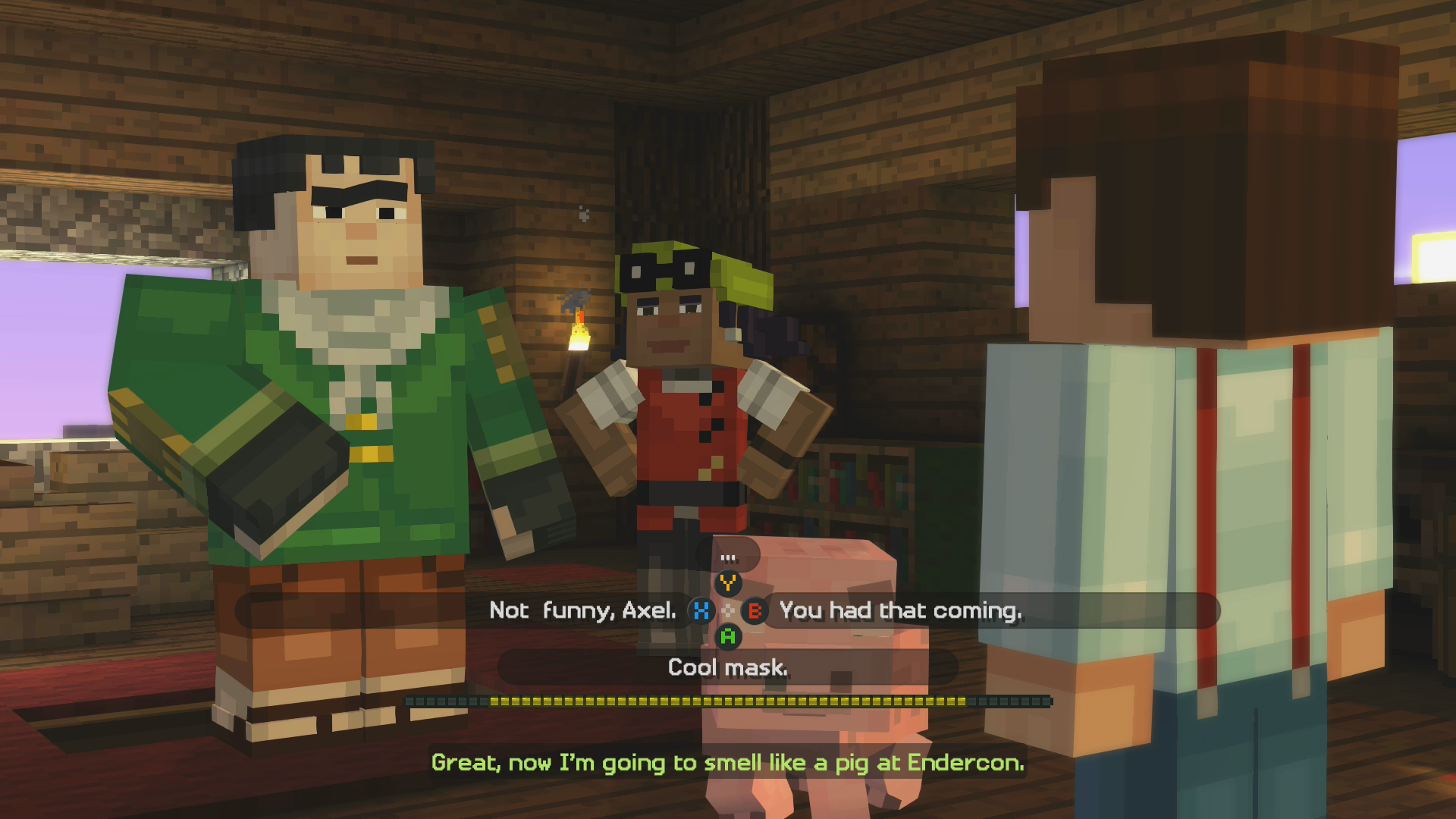 Minecraft Story Mode Episode 1: The Order of the Stone Review