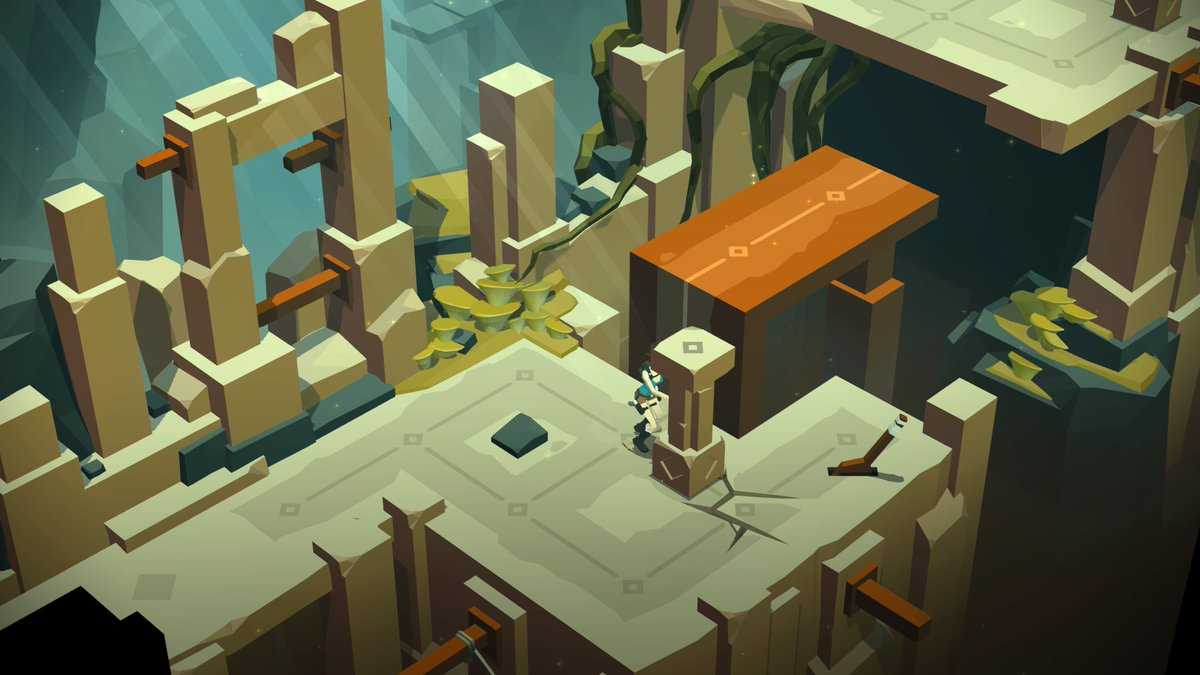 'Lara Croft GO' Review