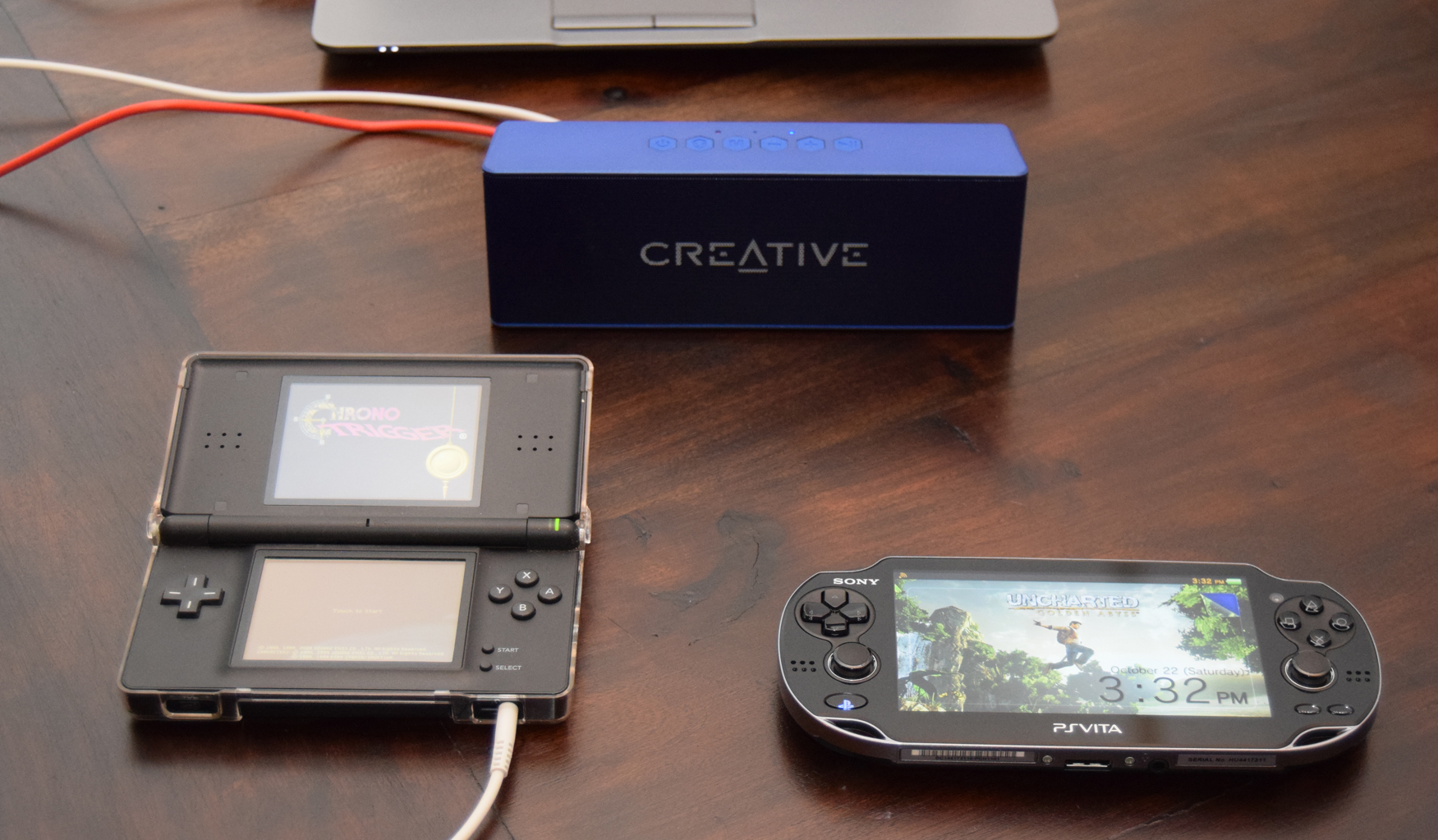 Creative Muvo 2 Bluetooth Speaker review PlayStation Vita, Nintendo DS, PC