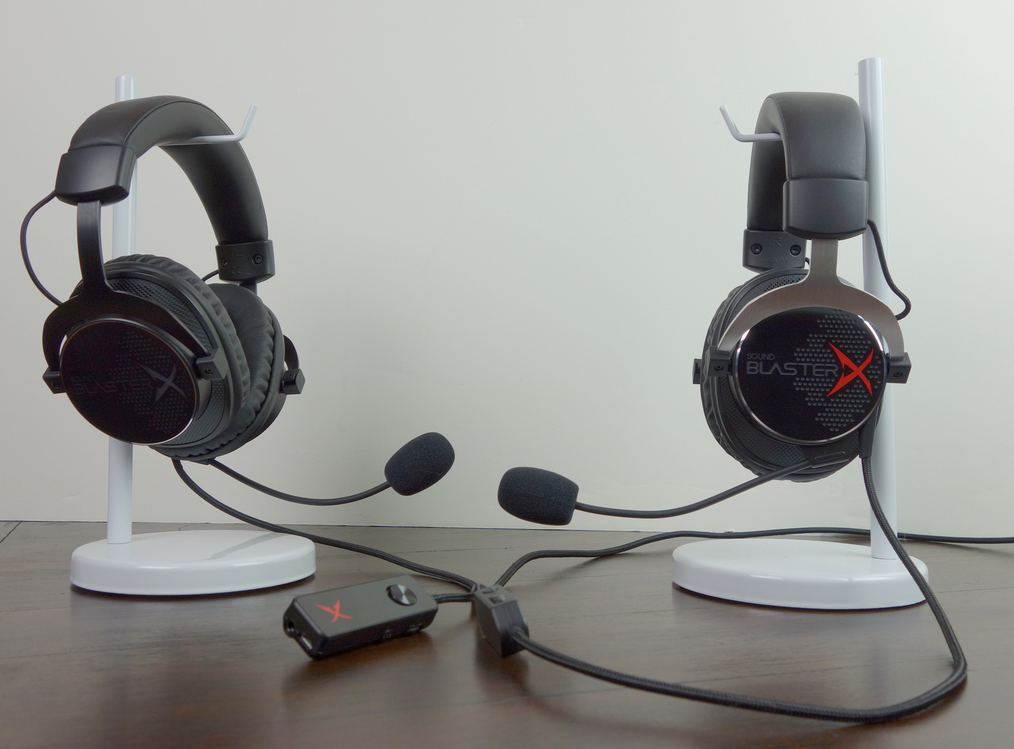 Creative Sound BlasterX H7 and H5
