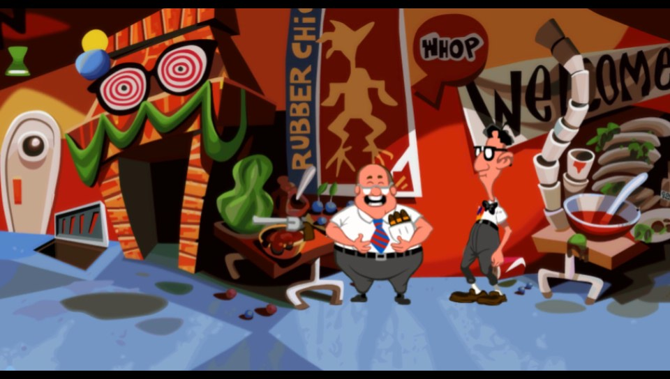 Day of the Tentacle Remastered Vita