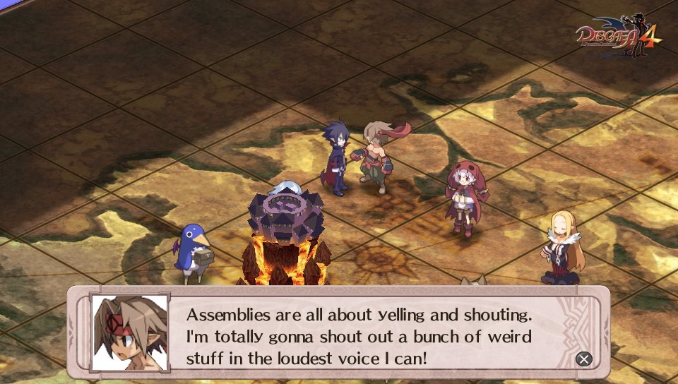 'Disgaea 4: A Promise Revisited' vita Review Screenshot