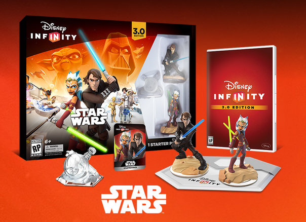 DISNEY INFINITY 3.0 EDITION STARTER PACK INCLUDES
