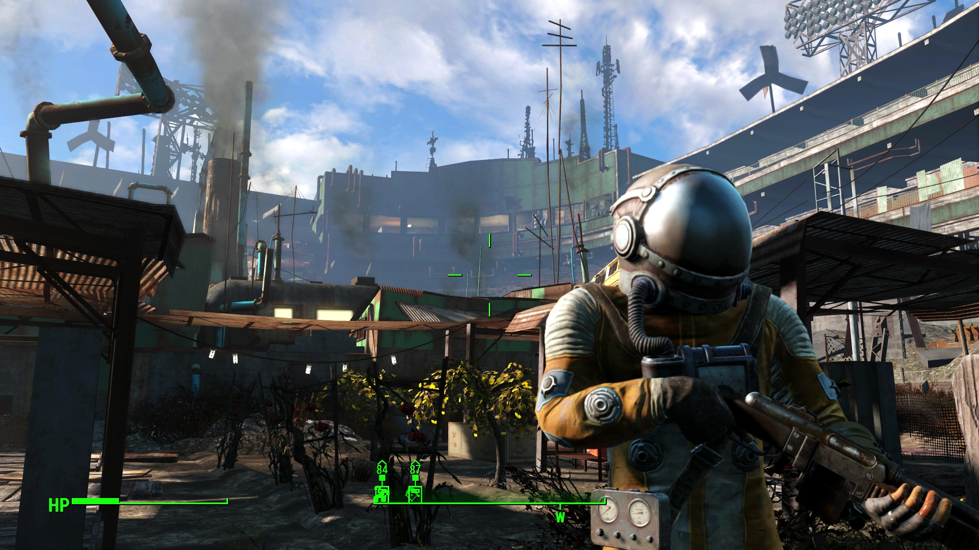 Fallout 4 Xbox One Review Diamond City Screenshot