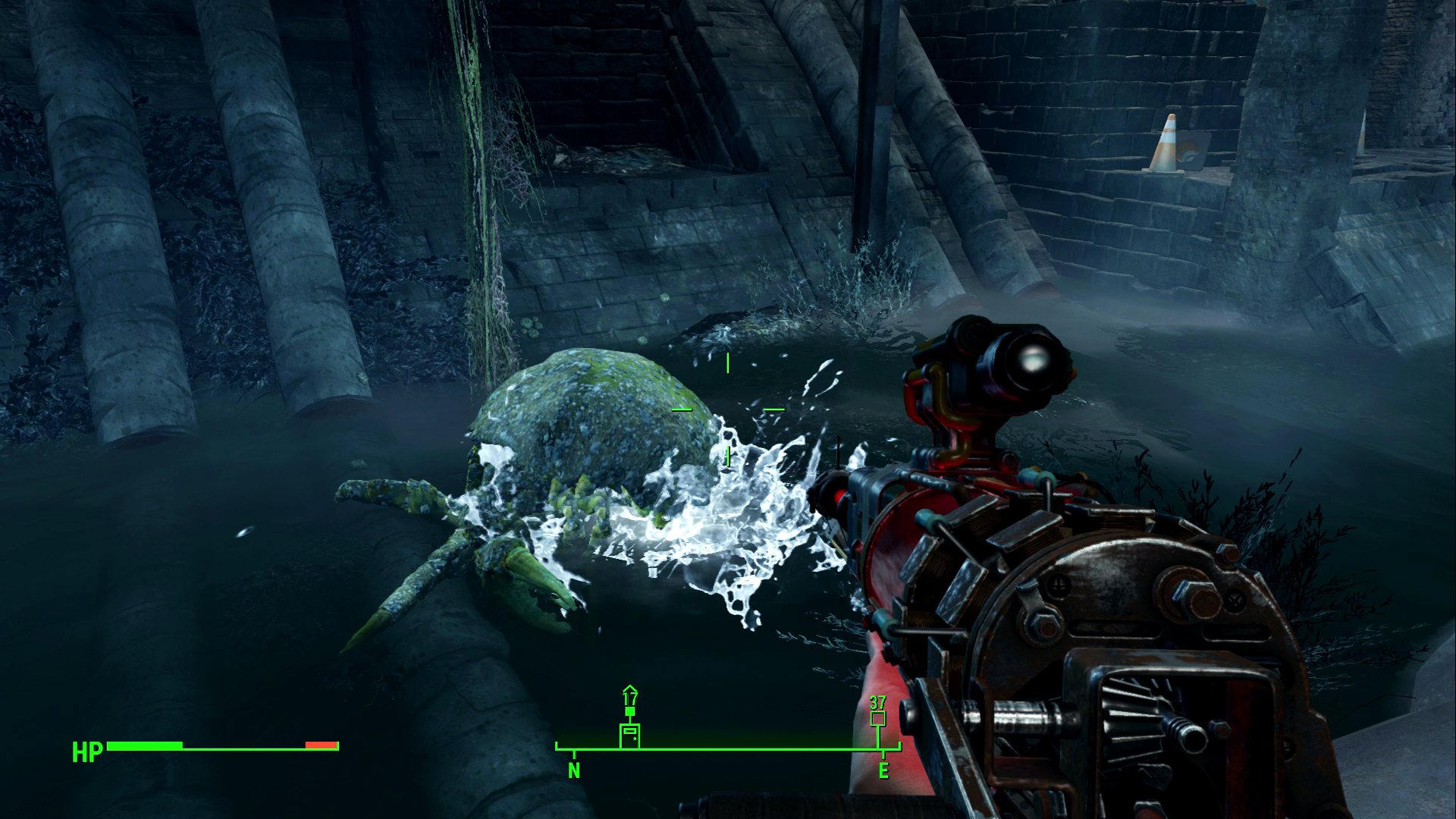 Fallout 4 Xbox One Review Mirelurk Screenshot
