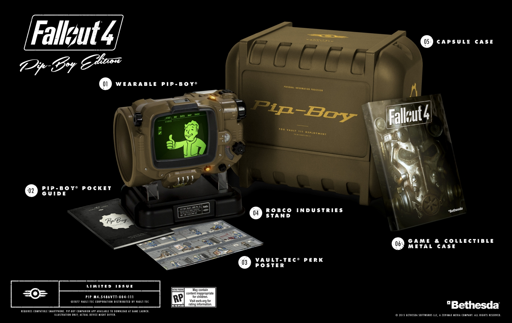 Fallout 4 - Pip-Boy Edition - Contents