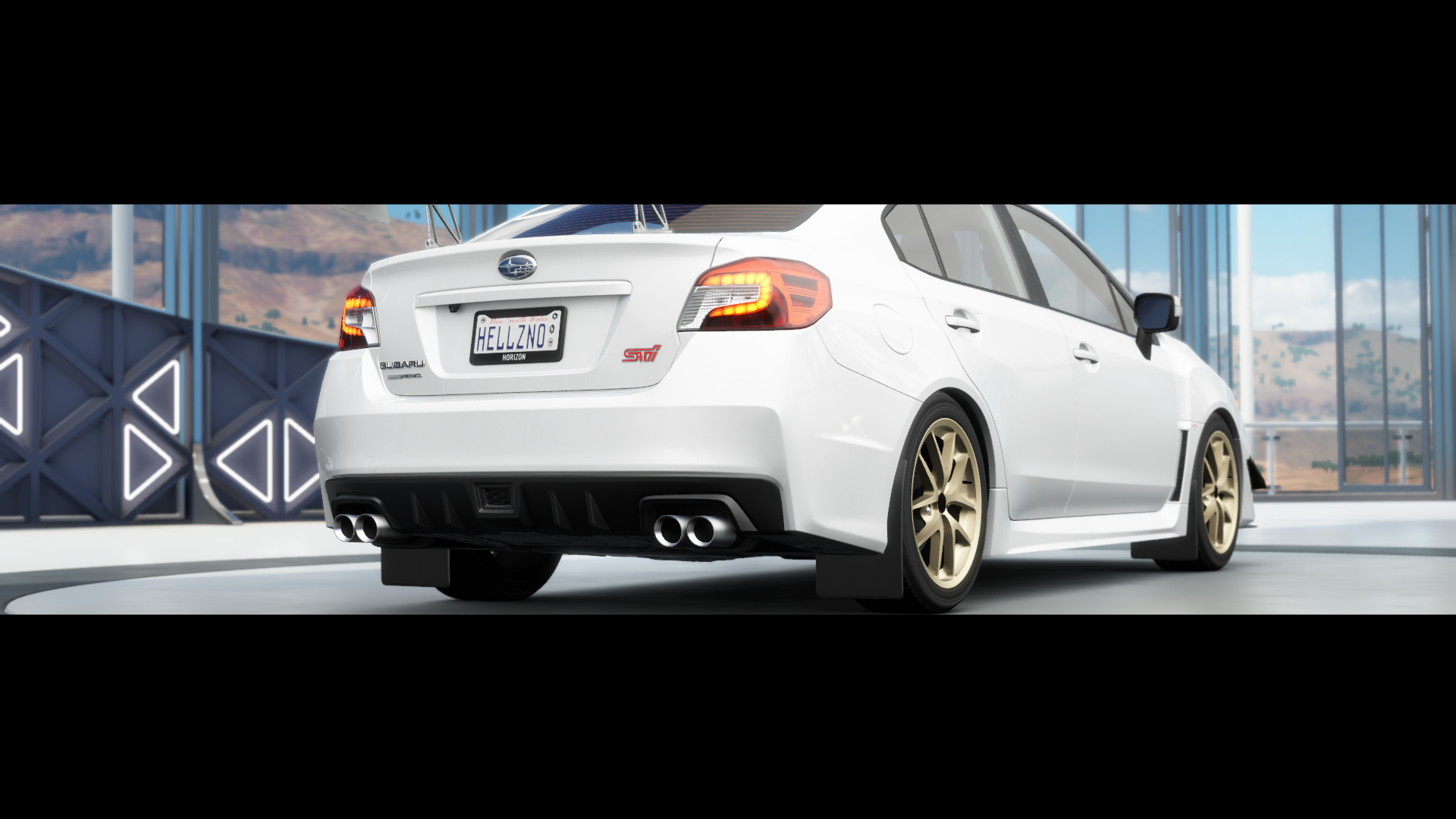 Forza Horizon 3 Xbox One Review Screen 2015 WRX STI