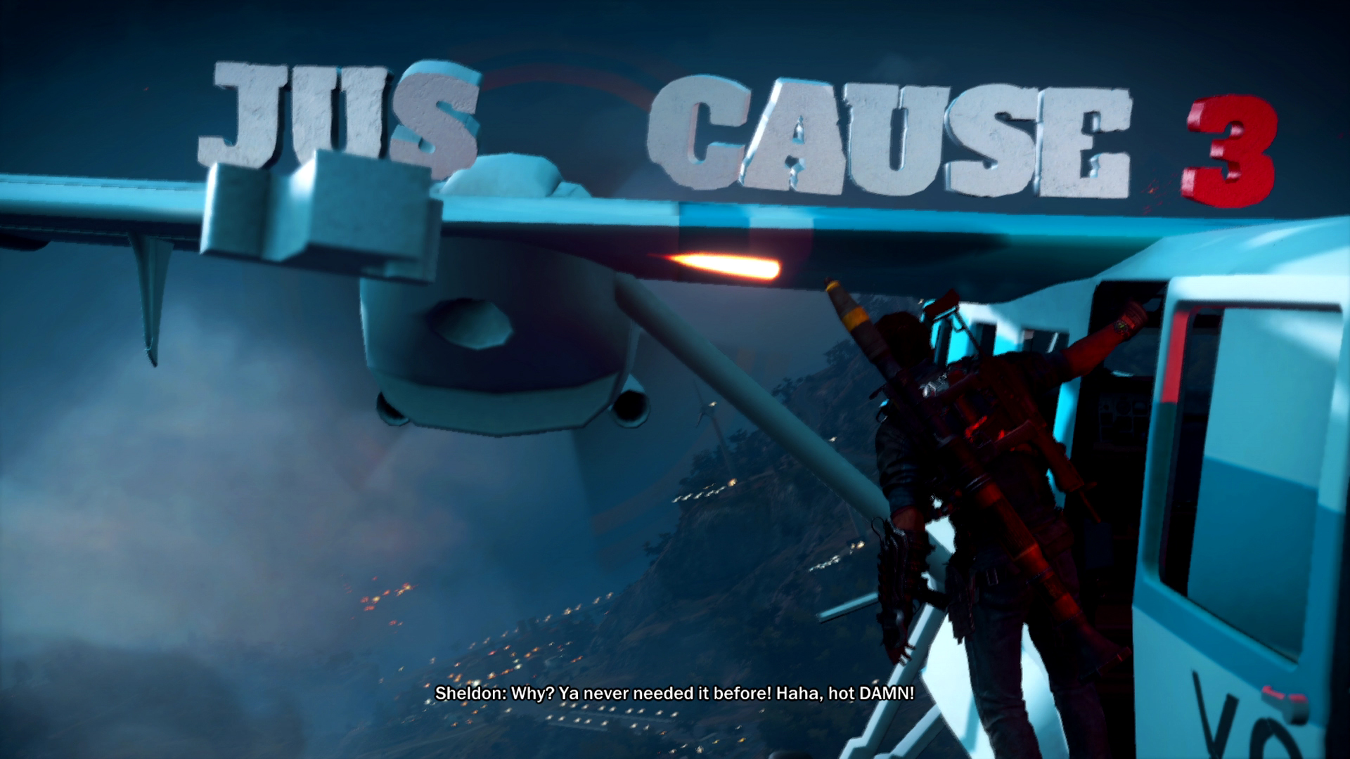 Just Cause 3 Xbox One review screenshot