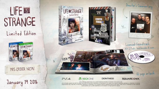 Life is Strange Limited Edition PS4 Xbox One