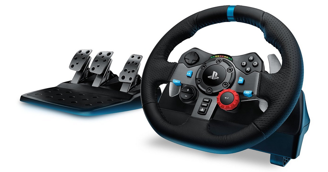 Logitech G29 with pedals