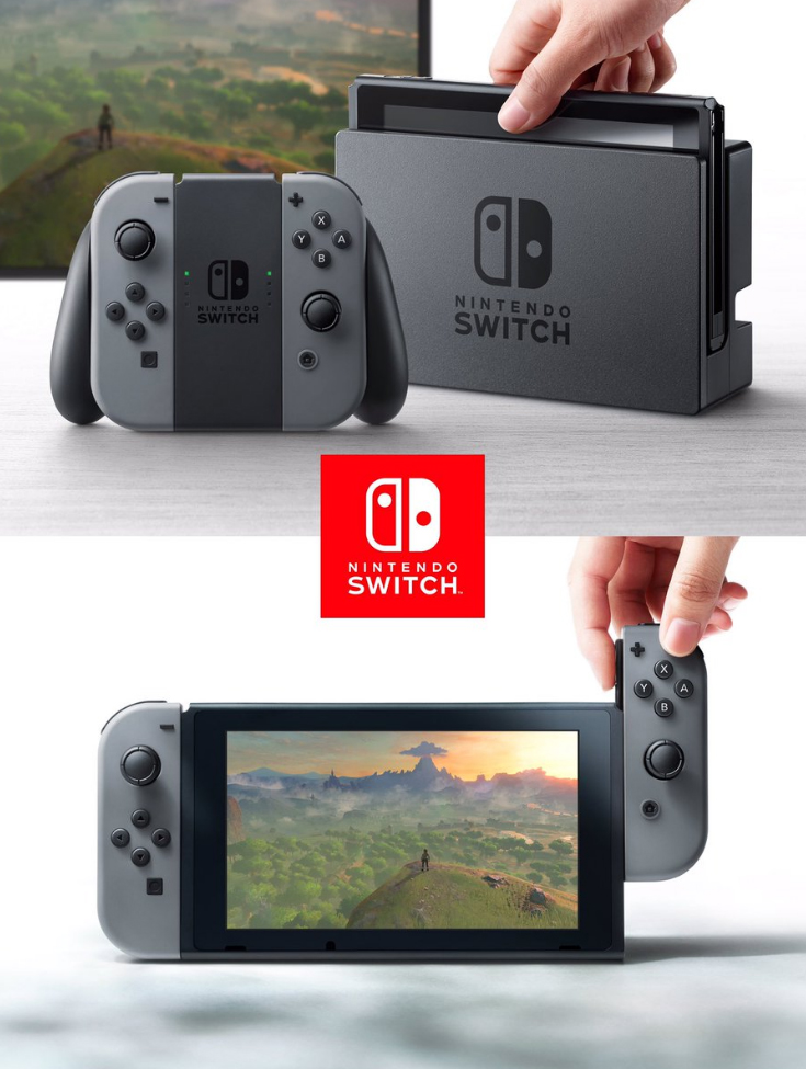 Nintendo Switch portable console