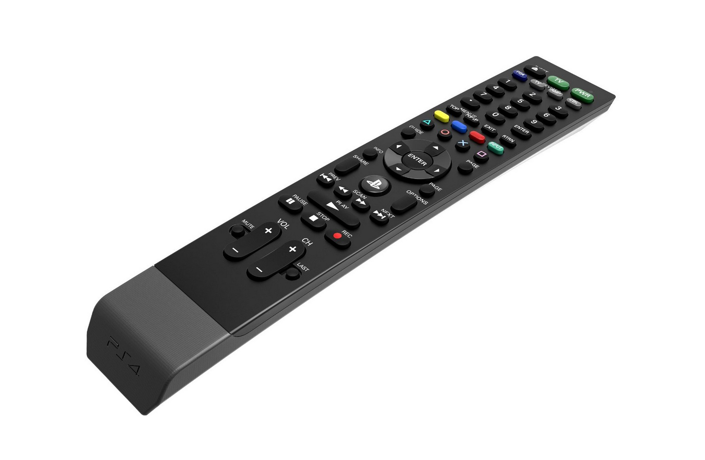 PDP Universal Media Remote for PS4 angle