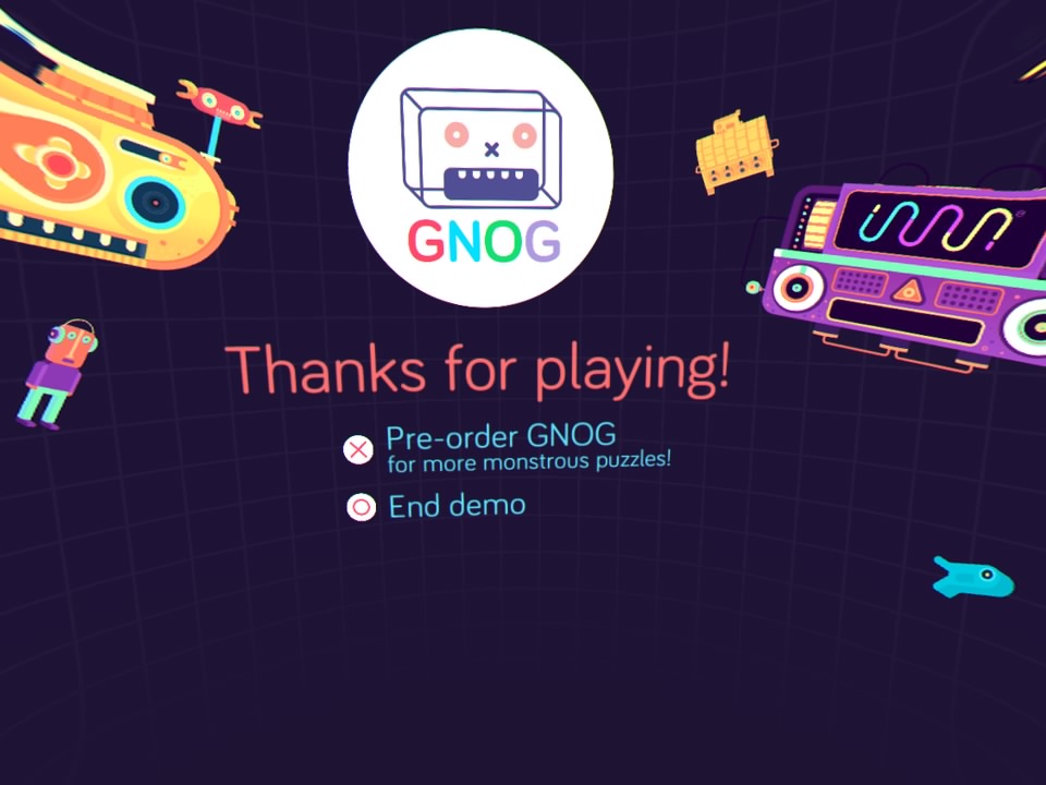PlayStation VR Demo Disc - GNOG