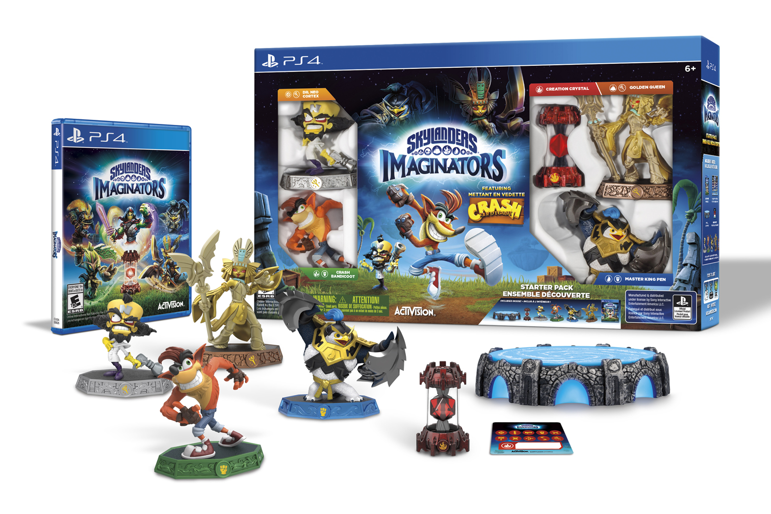 Skylanders Imaginators - Crash Bandicoot Edition Contents