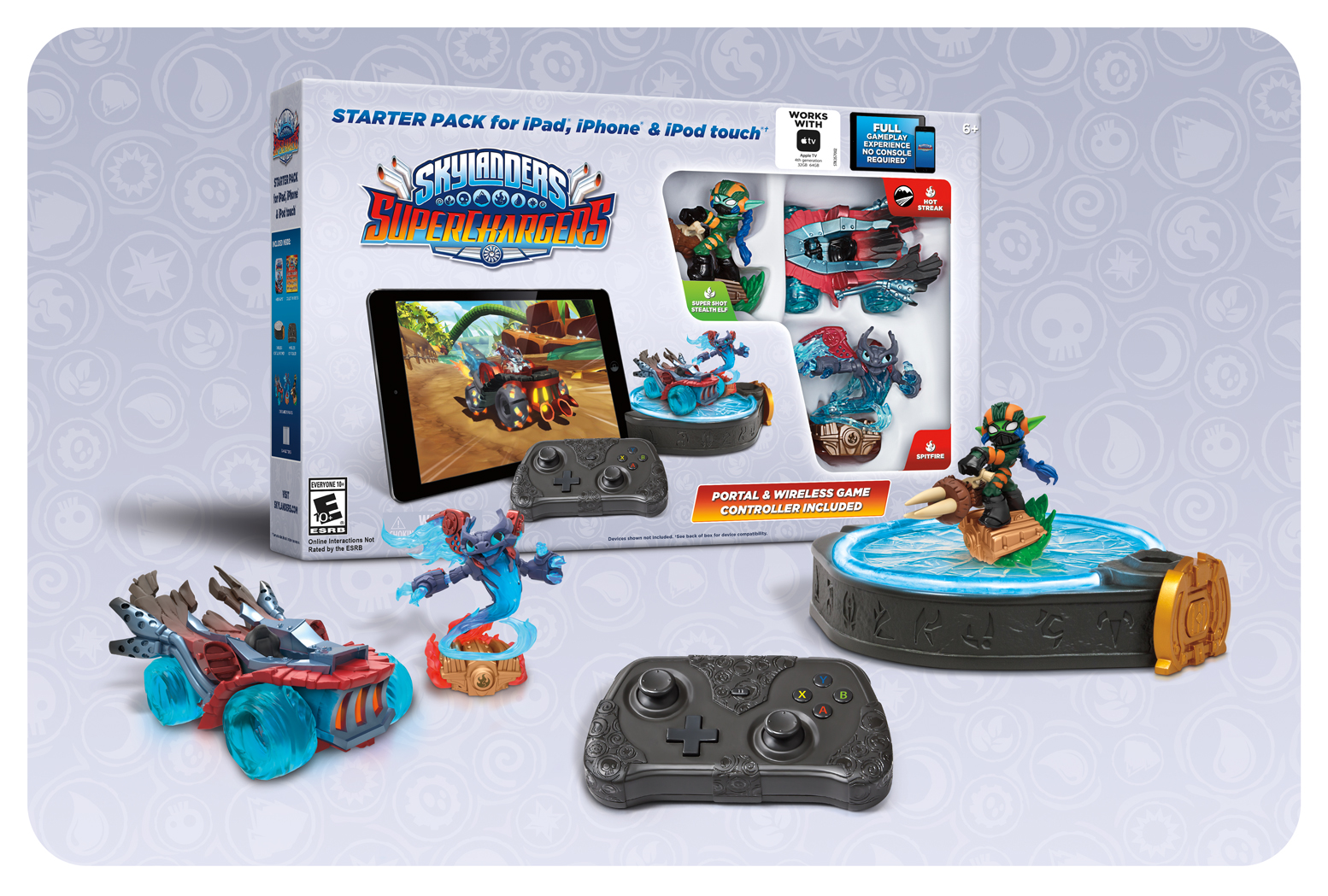 Skylanders SuperChargers iOS Portal and Controller