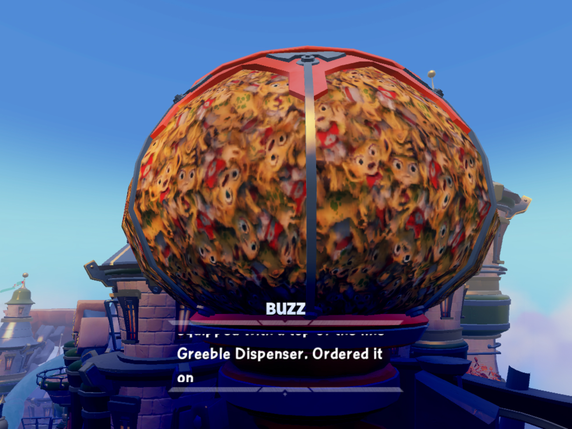 Skylanders SuperChargers iOS Greeble Dispenser