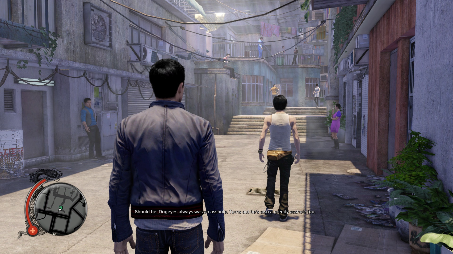 Sleeping Dogs: Definitive Edition PS4 Screenshot