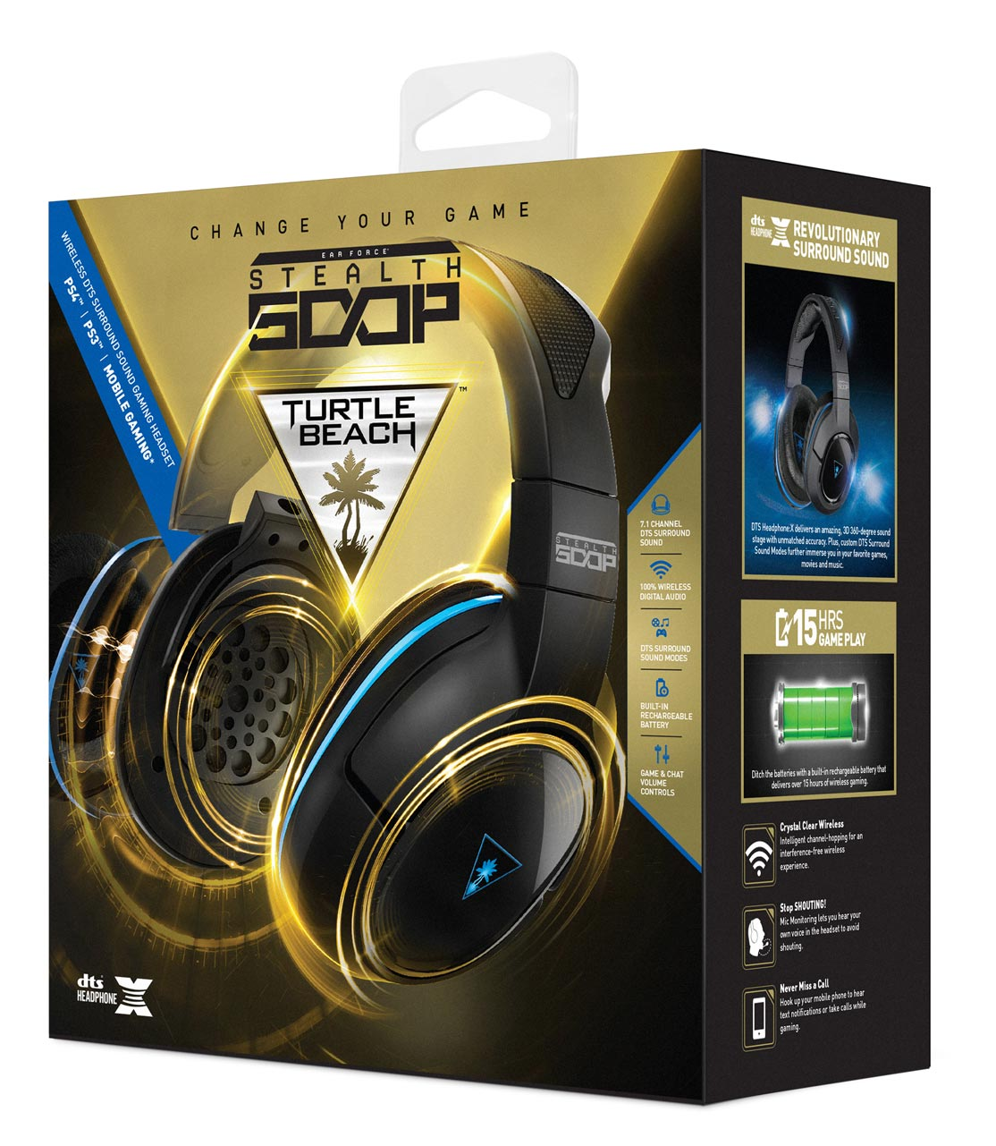 Turtle Beach Ear Force Stealth 500p Ps4 Review High Def Digest