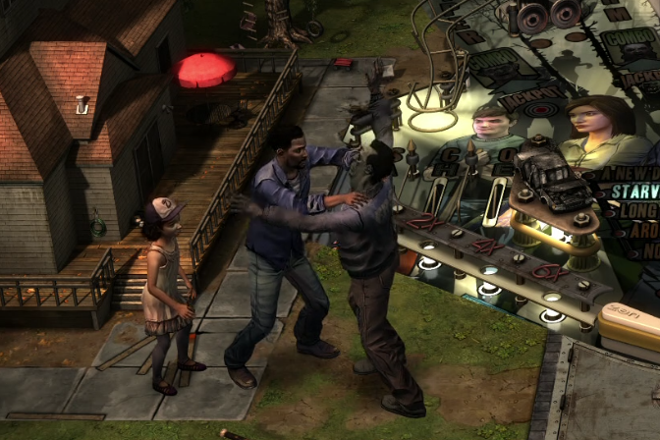 Zen Pinball 2 Zen Studios The Walking Dead Pinball Lee Clementine Defend PS4 PS3 Xbox One Xbox 360 Release Date Review