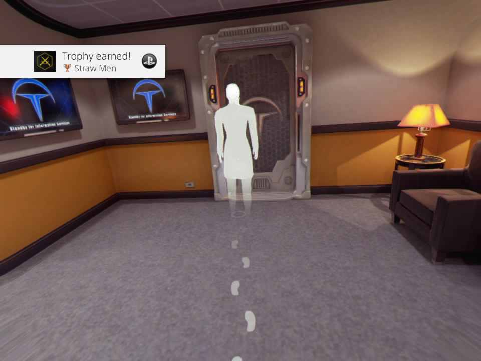 The Assembly PS VR review Walking Controls