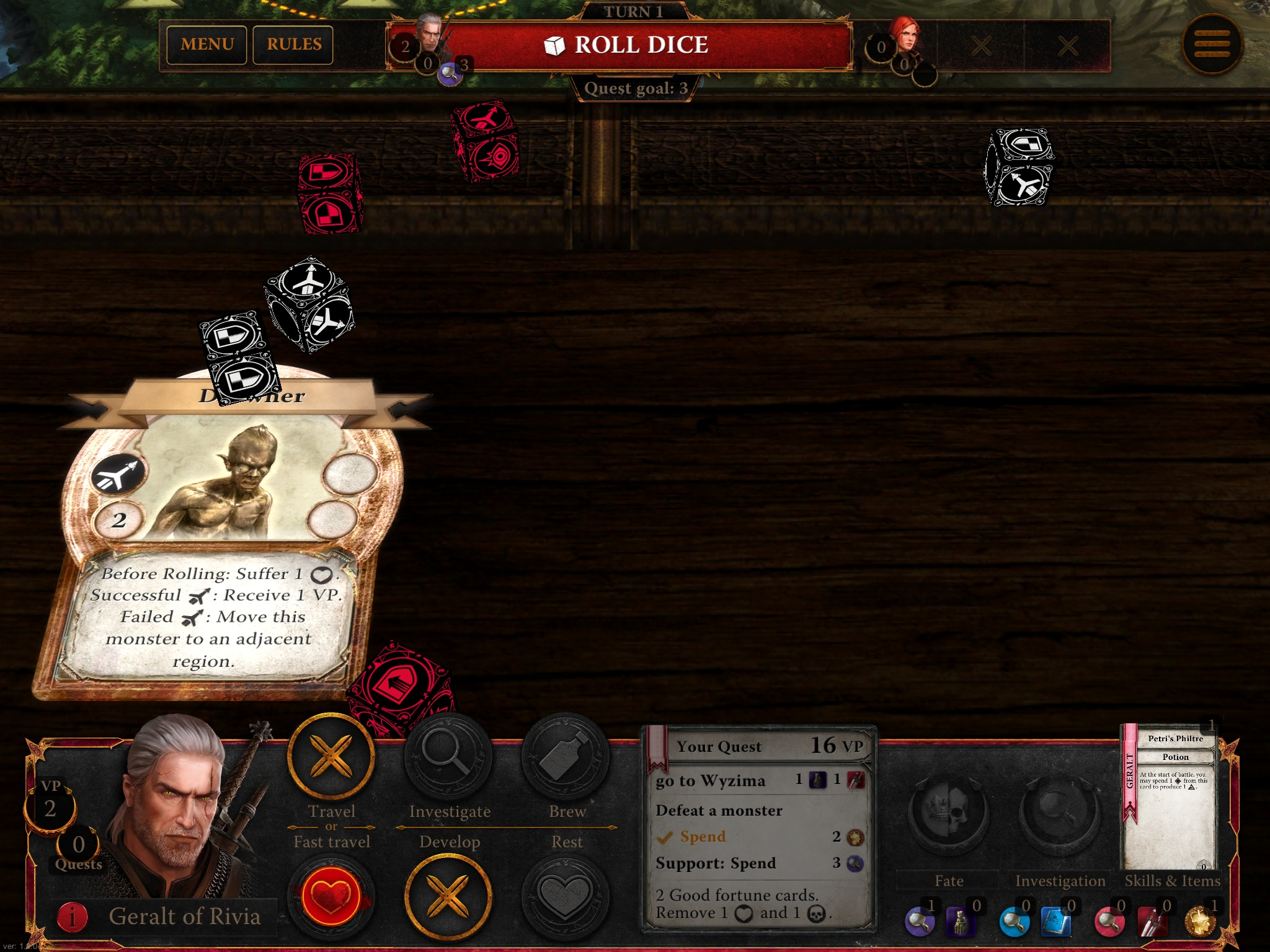 The Witcher Adventure Game iOS review