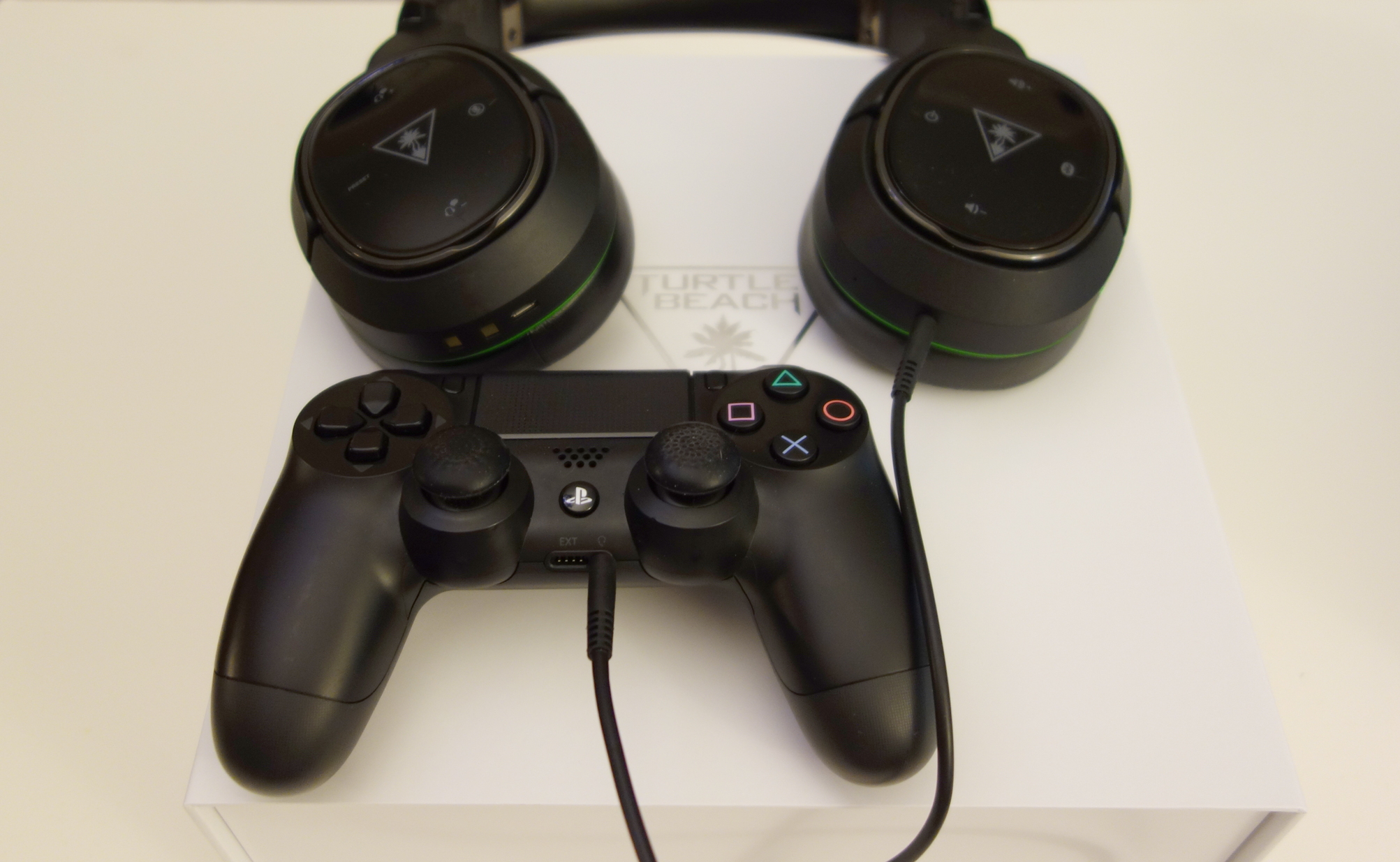 Turtle Beach Elite 800X PS4 DualShock4 connected