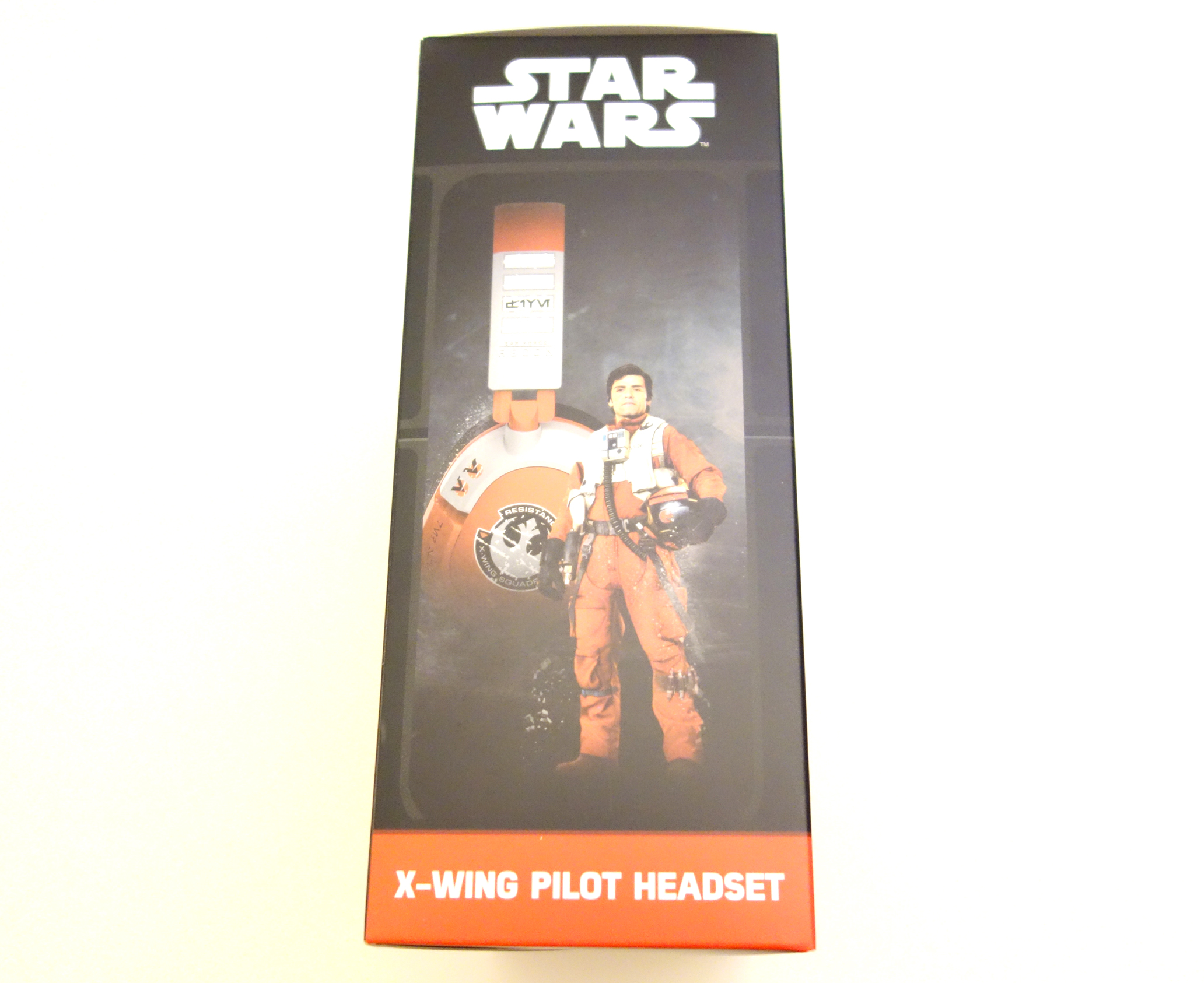 Turtle Beach Star Wars X-Wing Pilot Gaming Headset review box side