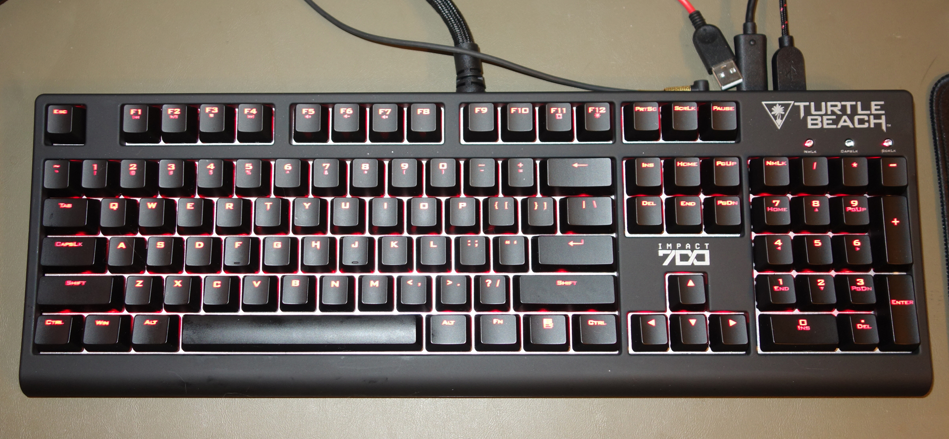 Turtle Beach IMPACT 700 mechanical keyboard
