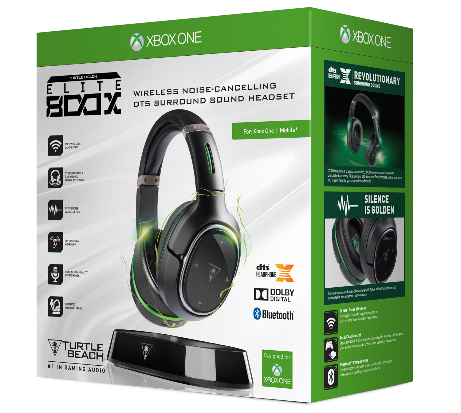 Turtle Beach Elite 800X Xbox One Wireless Surround Sound Headset