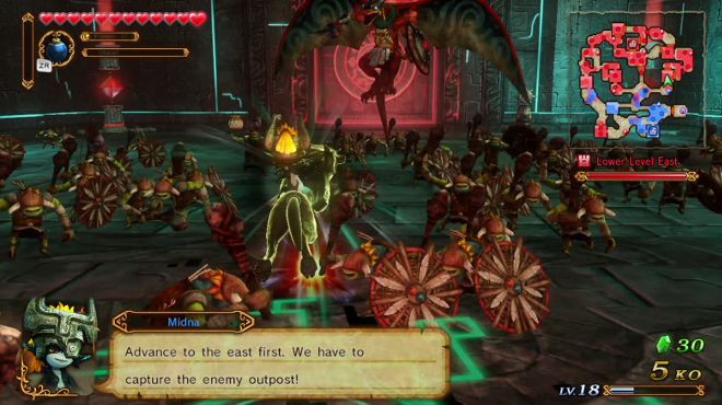 Hyrule Warriors Review Wii U Midna