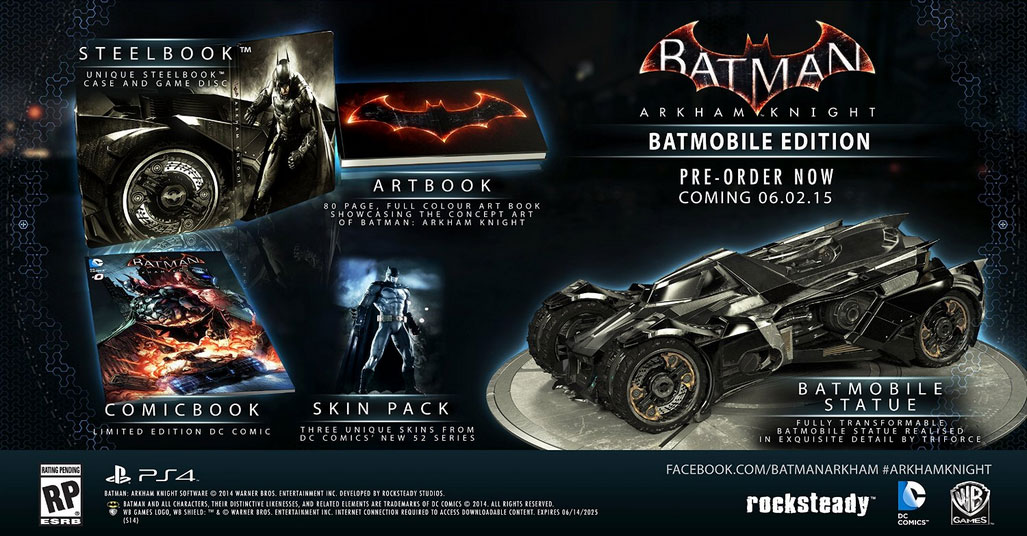 Batman: Arkham Knight Batmobile Edition