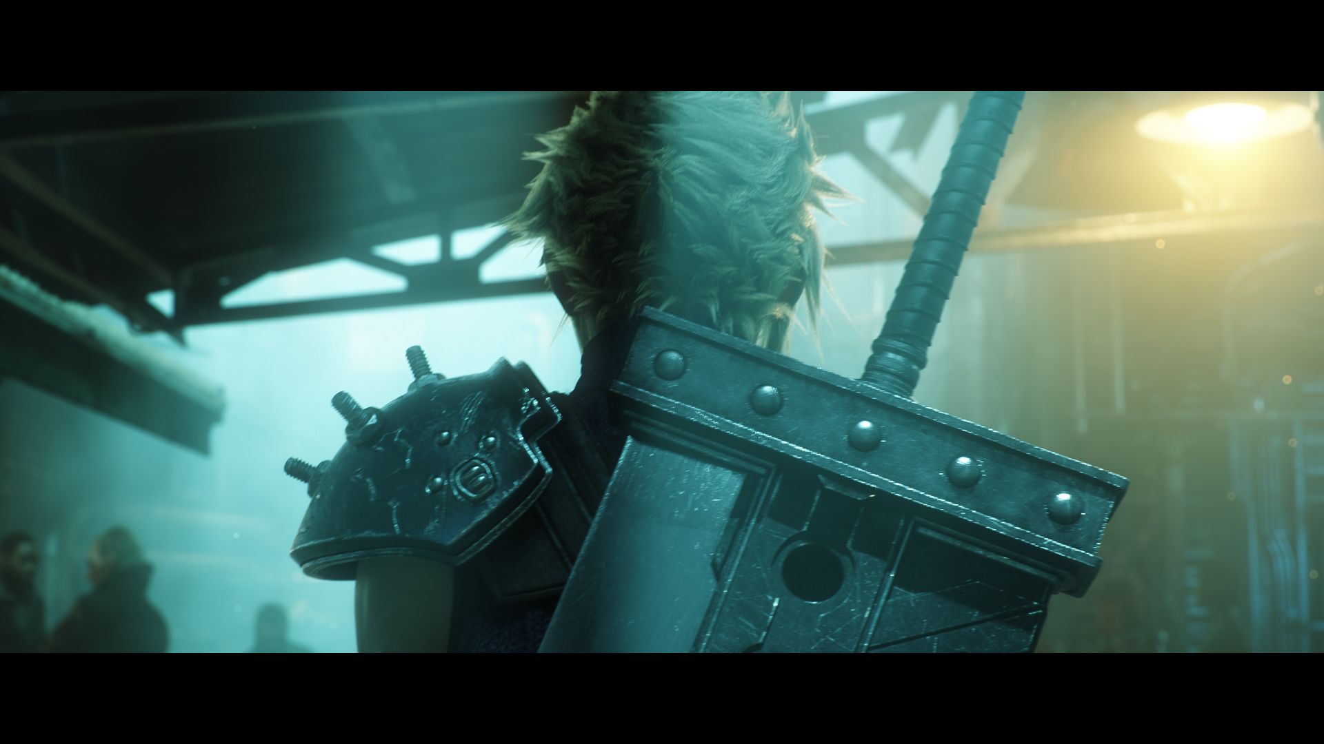 Final Fantasy VII Remake PS4 trailer screenshot