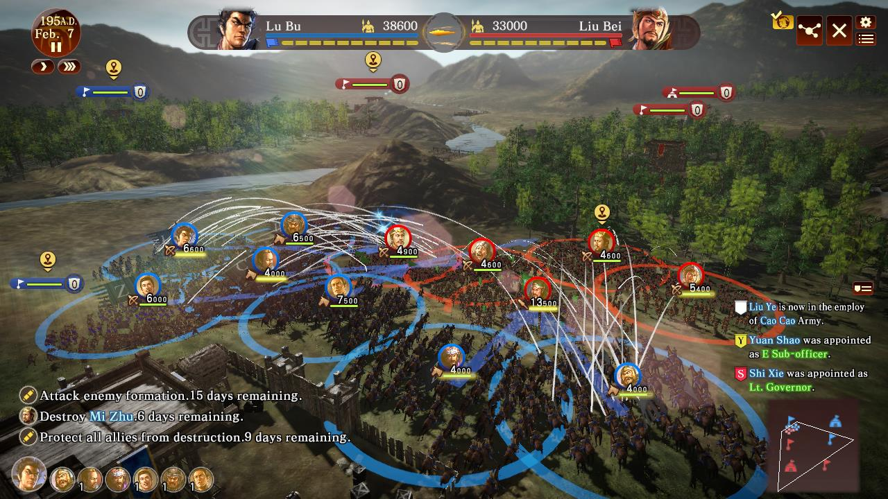Romance of the Three Kingdoms 13 Review Combat