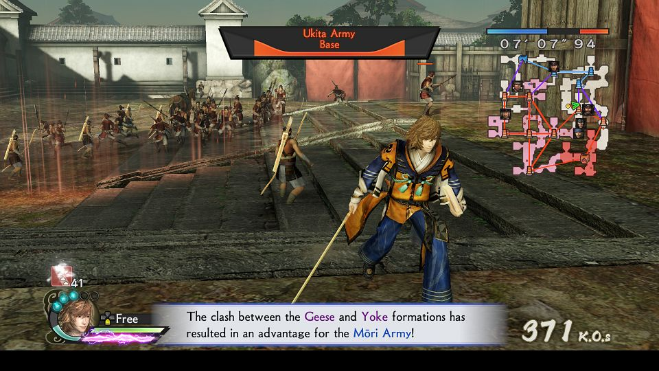 Samurai Warriors 4 Empires Combat