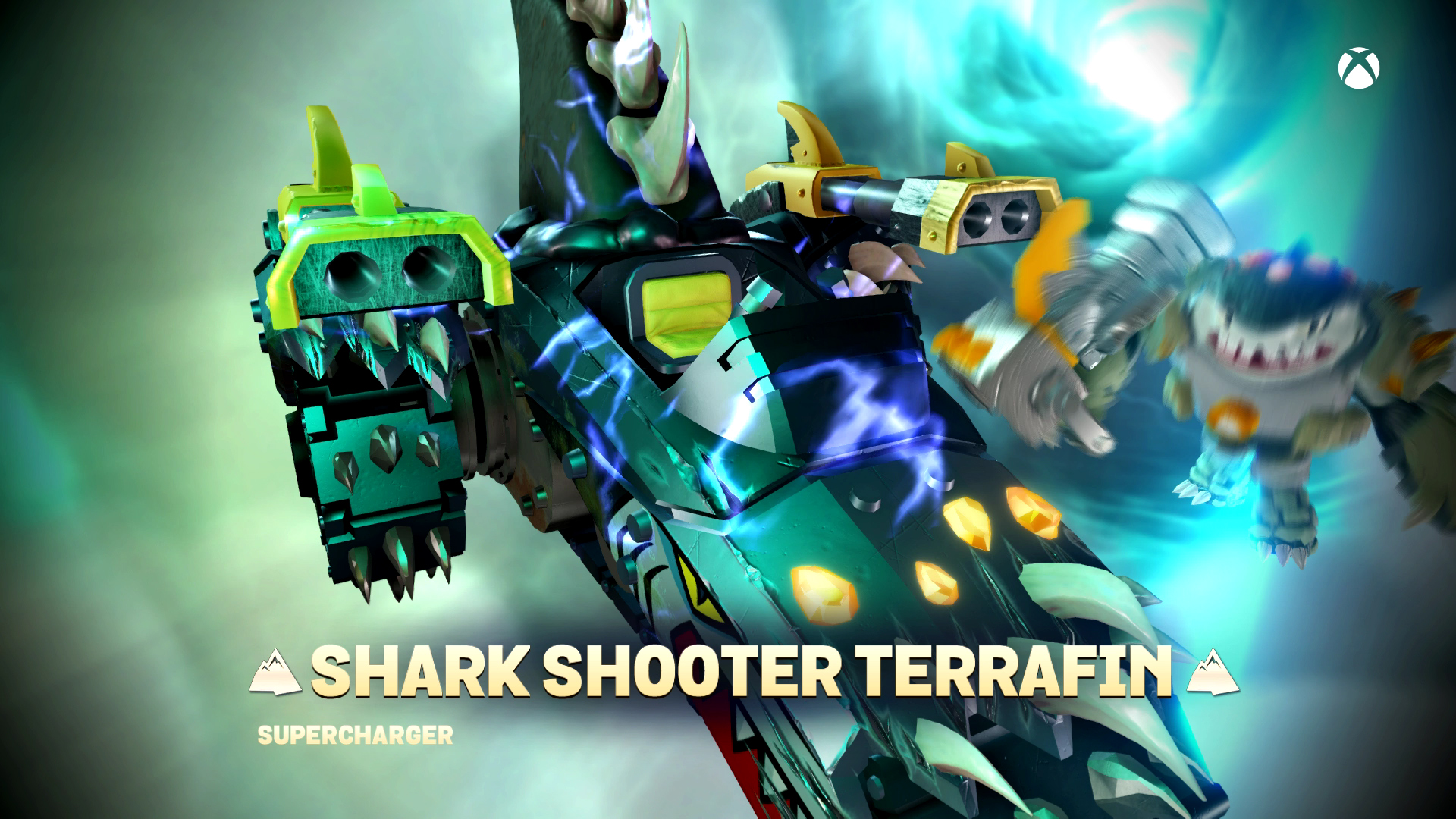 Skylanders SuperChargers Shark Shooter Terrafin SuperCharged
