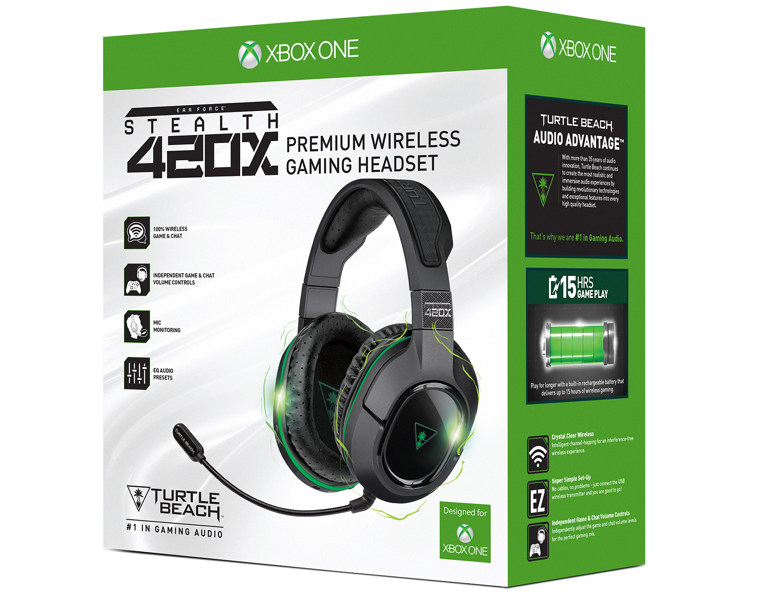 Turtle Beach Ear Force Stealth 420X packaging front