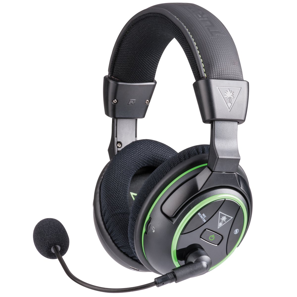 Turtle Beach Ear Force Stealth 500X Xbox One wireleless surround sound DTS Headphone:X review side view