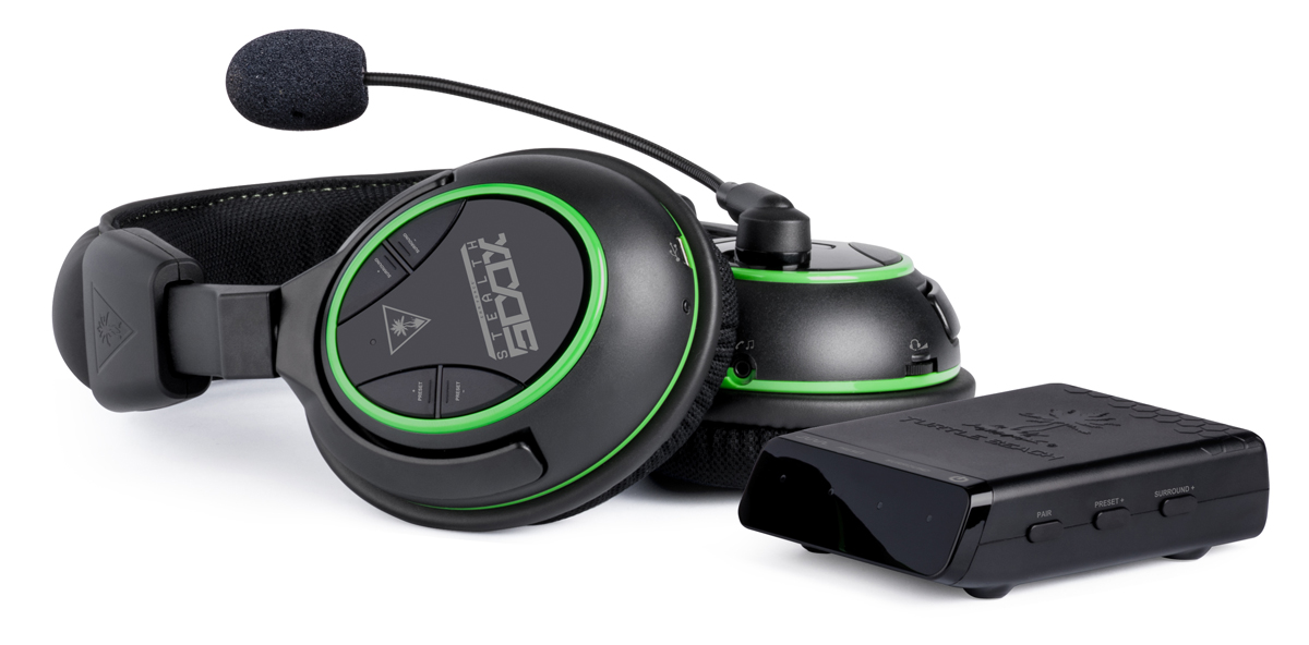 Turtle Beach Ear Force Stealth 500X Xbox One wireleless surround sound DTS Headphone:X review with trasmitter