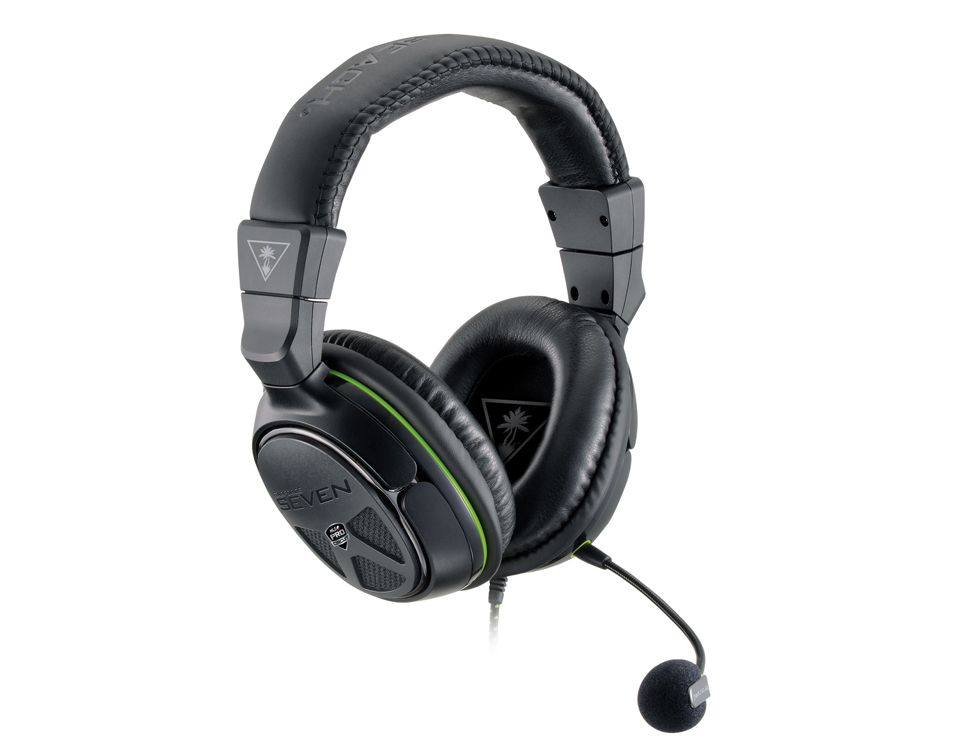 Turtle Beach XO Seven Pro with boom mic